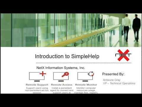 SimpleHelp Introduction Video