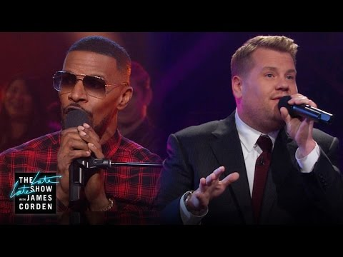 Jamie Foxx and James Corden Perform a Medley of Classic Public Domain