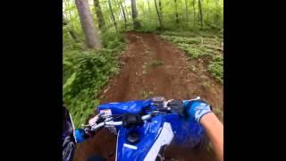 10. Yfz450r GoPro Trail Riding