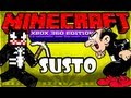 Minecraft Xbox 360 - Caverna Monstruosa do Gargamel XD #3