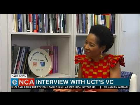 Interview With Uct Vice-chancellor, Professor Mamokgethi Phakeng