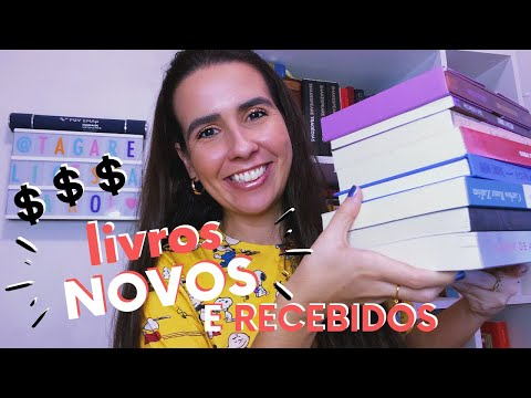BOOK HAUL (MAIO 2020) + TAG CURADORIA   Ana Carolina Wagner