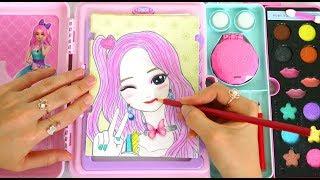 Video Makeup Artist Sketch Set Toy - Makeover with Makeup & Hair Color! لعبة ماكياج Maquiagem Artista MP3, 3GP, MP4, WEBM, AVI, FLV Agustus 2018