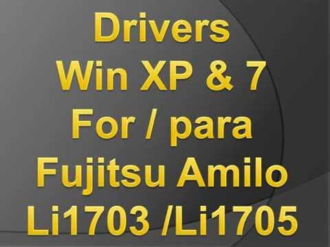 FUJITSU AMILO LI1705 LI1703 DRIVERS WINDOWS 7 & XP