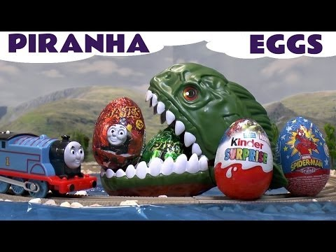 Kids Kinder Surprise Egg Thomas & Friends Surprise Toys Spider-Man Thomas And Friends Eggs and