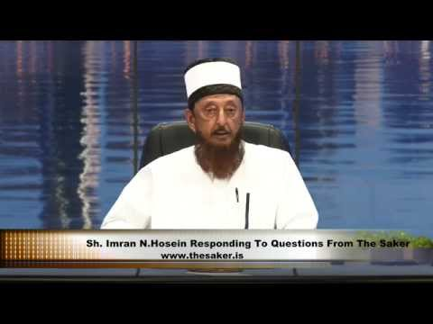 Sheikh Imran Hosein Responding To Questions From The Saker Pt 2