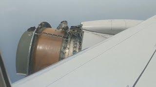 Video Plane Engine Falls Apart Over The Ocean MP3, 3GP, MP4, WEBM, AVI, FLV September 2019
