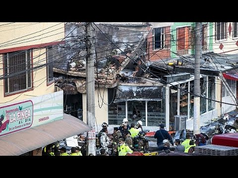 Συντριβή μικρού αεροσκάφους στη Μπογκοτά – Πέντε νεκροί, επτά τραυματίες