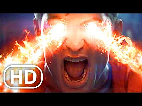 JUSTICE LEAGUE Superman Kills Shazam Fight Scene 4K ULTRA HD - Injustice Movie Cinematics