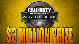 Call of Duty: WORLD LEAGUE! $3,000,000 Black Ops 3 Tournament Series (COD Champs 2016)