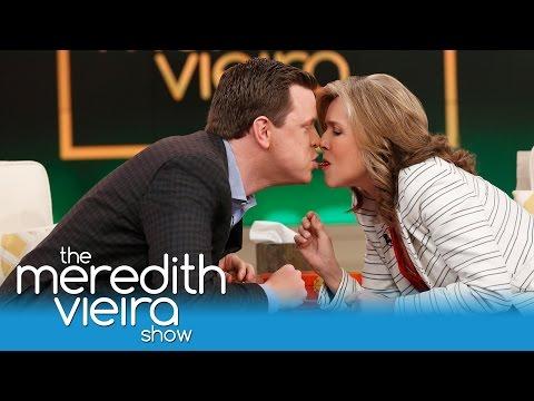 Willie Geist & Meredith Take The #TwizzlerChallenge!   The Meredith Vieira Show