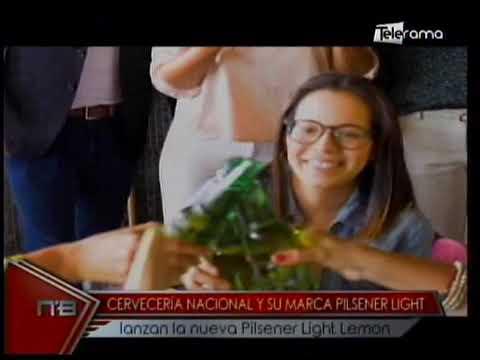 Cervecería Nacional y su marca Pilsener Light lanzan la nueva Pilsener Light Lemon