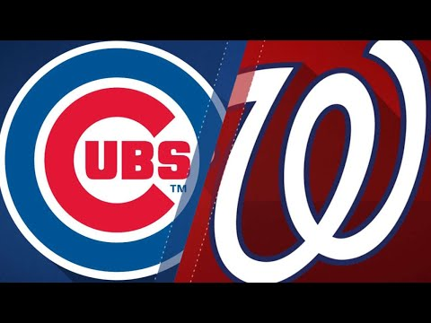 Baez leads Cubs to win vs. Nats in extras: 9/13/18