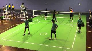 Sepak Takraw Thailand Youth U18's - Makut Kasat School Vs. Bangkok Sports School