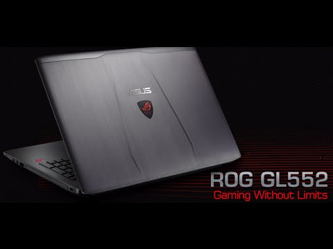 ASUS ROG  GL552 Review ... Best Budget Gaming Laptop of 2016 (6th Gen i7, 16gb ddr4 ram)