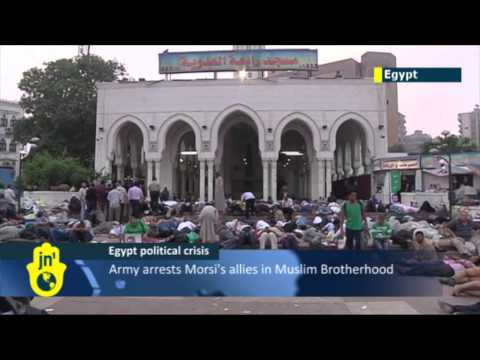 Egypt army crackdown continues: Military moves against Muslim Brotherhood as Islamists plan protests