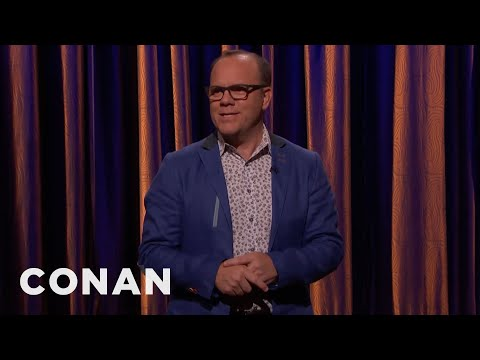 Tom Papa StandUp on Conan