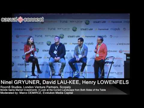 Mobile Game Market Investments   GRYUNER, LAU-KEE, LOWENFELS, DEMIROZ