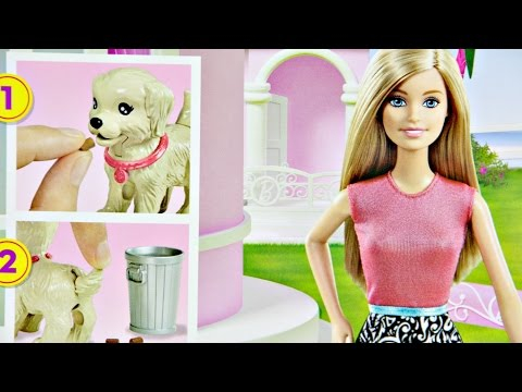 "Набор Barbie ""Веселая прогулка с любимцем"" (CFN43)"