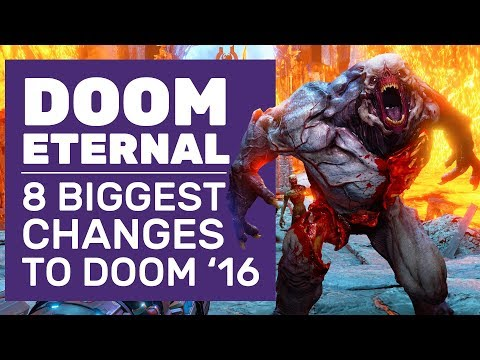 Microwave Guns And 8 Best DOOM Eternal Changes | Doom Eternal E3 Demo Impressions