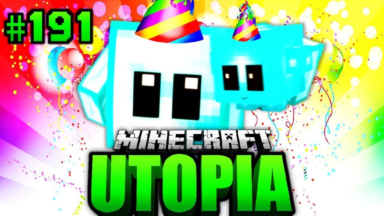 BLOCKY Wird JAHRE ALT Minecraft Utopia DeutschHD - Minecraft utopia spielen