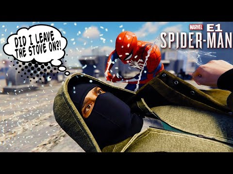 Marvels Spider-Man PS4 Full 4k Gameplay Part 1 - Introduction To Spooderman [PS4 Pro]