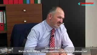Interviul ZILEI - invitat: Marius Sorin DANGA, vice-presedintele Consiliului Judetean Iasi