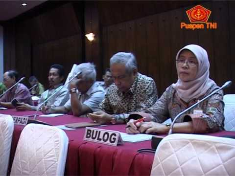 Panglima TNI Gelar Pertemuan Dengan Ahli Pangan