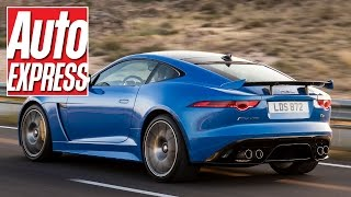 Jaguar F-Type SVR review: British V8 muscle tested on road and track by Auto Express