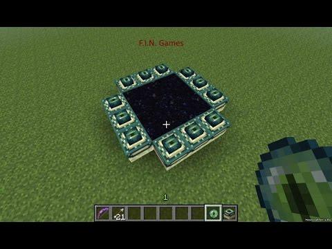 Minecraft портал в край как сделать
