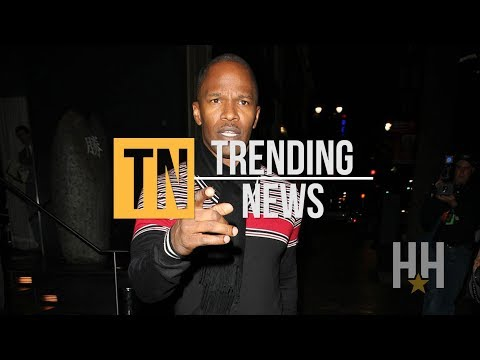 Jamie Foxx Accused Of Slapping A Woman With What?!
