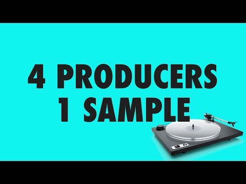 4 Producers Get To Remix The Same Song