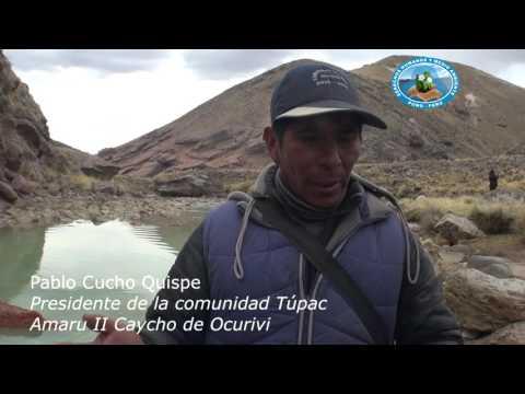 Testimonio de contaminación en Ocuviri