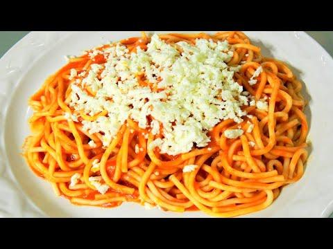 Como Cocinar Espaguetis   Como Hacer Espagueti Spaguetti Rojo Receta Facil Y Rapida