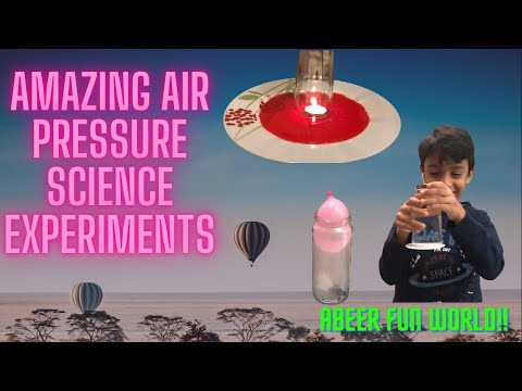 Air Pressure Experiments | Air Pressure Science Experiments Egg Balloon | Egg in a Bottle Experiment
