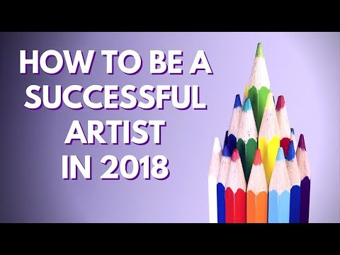 How to Be a Successful Artist in 2018   New Year's Resolution