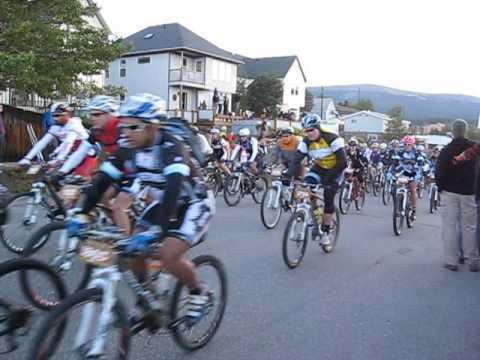 Start 2012 Leadville, Colorado 100 mile MTB race