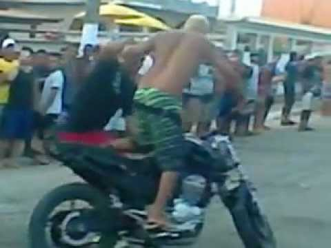Pega de moto barra de sao joao 2012