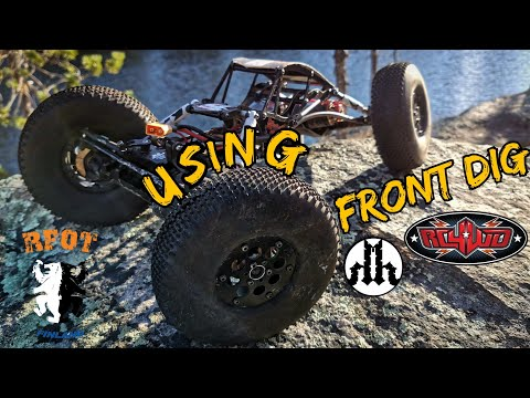 RC CRAWLER PRO DRIVING TIPS EPISODE 6 - USING FRONT DIG
