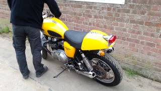 7. Triumph Thruxton 900