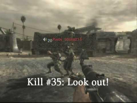 Dalších 50 způsobů jak někoho zabít nebo být zabit v CoD 5