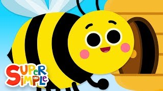 Video The Bees Go Buzzing | Kids Songs | Super Simple Songs MP3, 3GP, MP4, WEBM, AVI, FLV Desember 2018