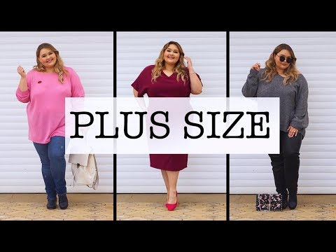 Одежда больших размеров с алиэкспресс видео