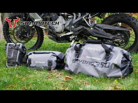 Test des sacs SW Motech Drybag 350, 180 et 80 : mon avis après 1 an d'utilisation