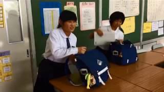 あいさつあふれる木島平中学校