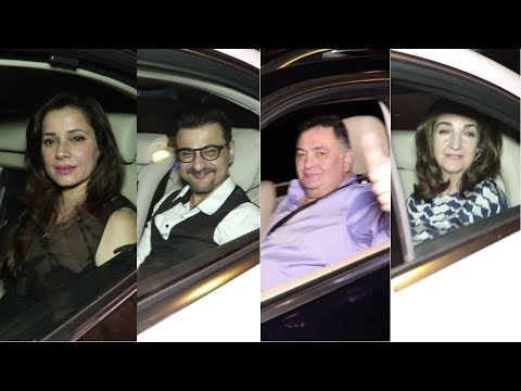 Karan Johar, Rishi Kapoor And Many Celebs Spotted At Pamela Grover House