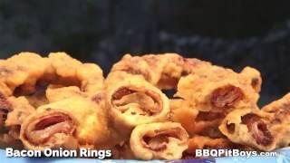 Crispy Fried Bacon Onion Rings by BBQ Pit Boys