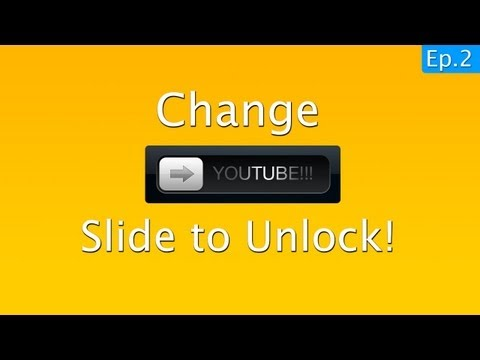TechCrack - 100% WORKING | How to change SLIDE TO UNLOCK on ANY iPhone, iPod touch and iPad. Works with iOS 6.1.2 (tested) Website: http://techkon.net/ TechKon 2: http:/...