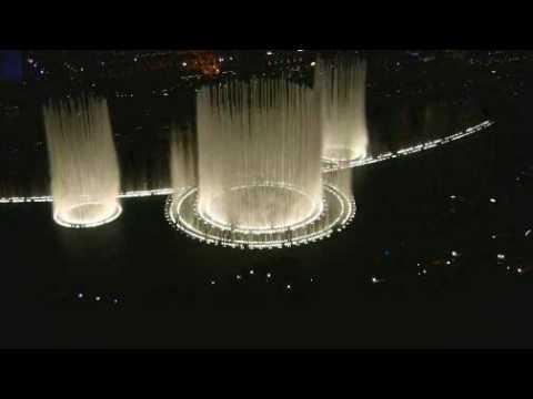 Романтичный поющий фонтан!