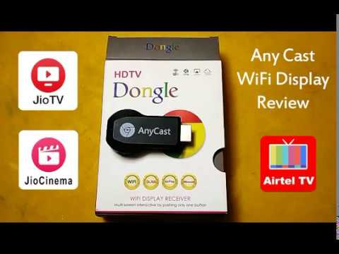 Anycast wifi display review in Hindi